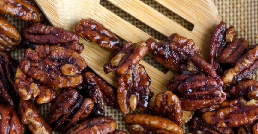 WILDLY ADDICTIVE CANDIED PECAN RECIPE